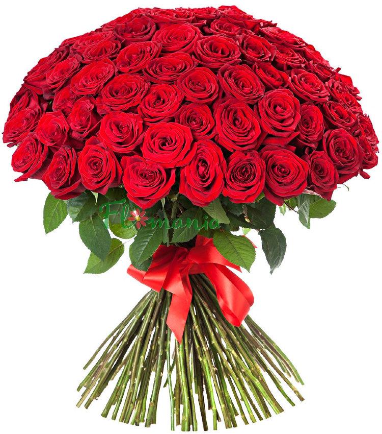 Картинки с букетом красных роз